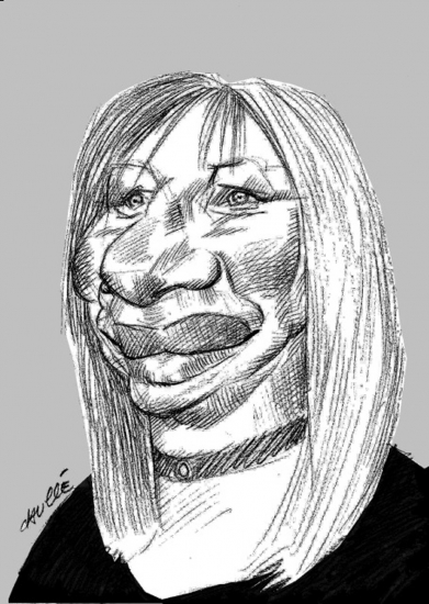 Barbra Streisand par daulle